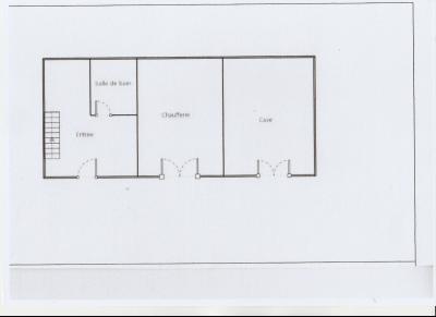 LONS LE SAUNIER nord (39), à vendre maison de village en pierre 152 m², terrain 297 m²., PLAN DEPENDANCES