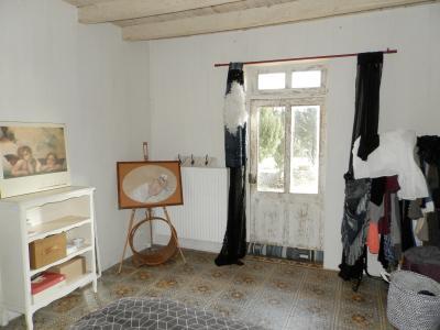 SAINT GERMAIN DU BOIS (71), à vendre ferme rénovée 111 m², terrain 4781 m², sans voisinage., CHAMBRE 15 m²