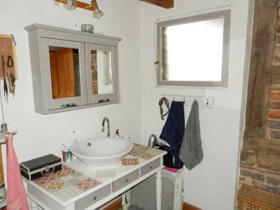 SAINT GERMAIN DU BOIS (71), à vendre ferme rénovée 111 m², terrain 4781 m², sans voisinage., SALLE D