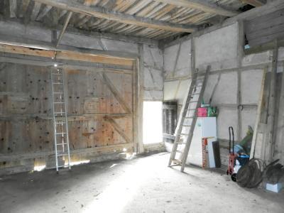 SAINT GERMAIN DU BOIS (71), à vendre ferme rénovée 111 m², terrain 4781 m², sans voisinage., GRANGE GARAGE 50 m²