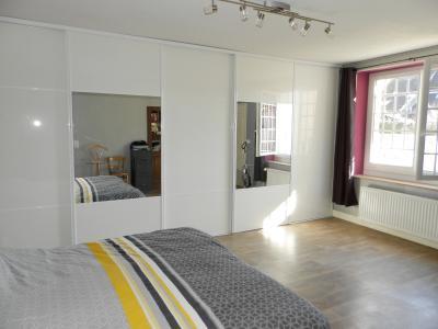 Proche BLETTERANS (39), à vendre maison de village 116 m², trois chambres, terrain 297 m²., Suite parentale rez 27.50 m²