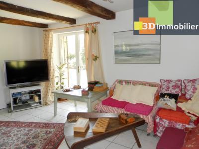 CHAUMERGY (39), vends ferme rénovée 158 m² + gite attenant 120 m², terrain 2659 m²., PIECE DE VIE GITE 45 m²