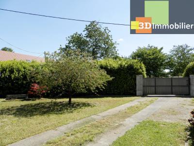 CHAUMERGY (39), vends ferme rénovée 158 m² + gite attenant 120 m², terrain 2659 m²., VUE TERRAIN