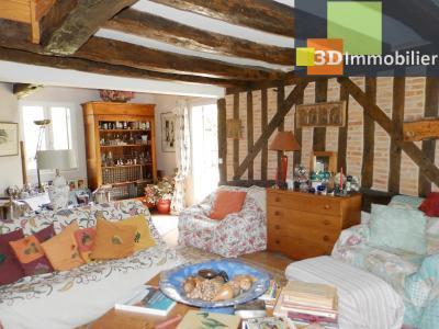 CHAUMERGY (39), vends ferme rénovée 158 m² + gite attenant 120 m², terrain 2659 m²., SALON 30 m²