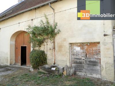LONS LE SAUNIER nord (39), à vendre maison en pierre à rénover 79 m², dépendances, terrain 586 m², DEPENDANCES ATTENANTES