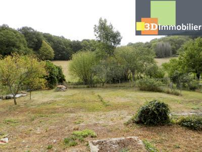 LONS LE SAUNIER nord (39), à vendre maison en pierre à rénover 79 m², dépendances, terrain 586 m², VUE TERRAIN