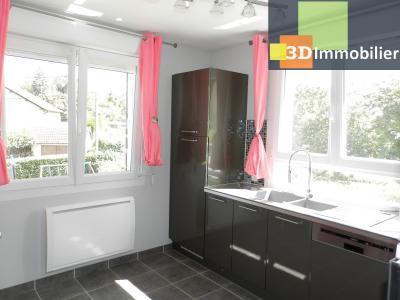 LONS-LE-SAUNIER (39), A VENDRE maison familiale 190 m², 5 chambres + bureau, garage, terrain 986 m²., Cuisine équipée étage 11 m²