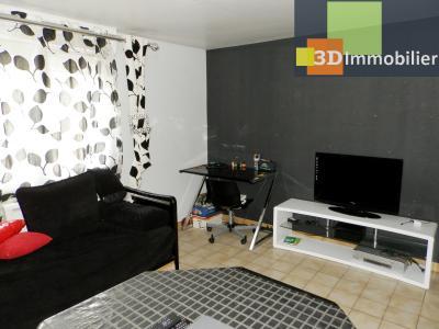 LONS-LE-SAUNIER (39), A VENDRE maison familiale 190 m², 5 chambres + bureau, garage, terrain 986 m²., SALON REZ 16 m²