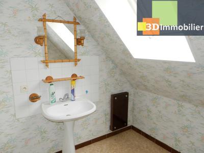 BLETTERANS (39140), maison 135 m², quatre chambres, garage, terrain environ 1000 m², SALLE D