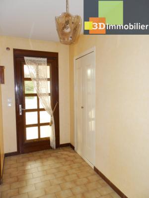 BLETTERANS (39140), maison 135 m², quatre chambres, garage, terrain environ 1000 m², ENTREE