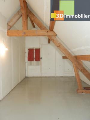 BLETTERANS (39140), maison 135 m², quatre chambres, garage, terrain environ 1000 m², GRENIER