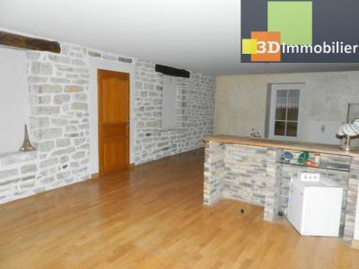LONS-LE-SAUNIER (39), maison en pierre 127 m² sur terrain 823 m²., SALON SEJOUR 44 m²