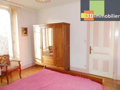 VENTE : LONS-LE-SAUNIER (JURA), A VENDRE maison de caractère 110 m², terrain 688 m², CHAMBRE 18 m²