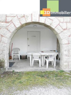 VENTE : LONS-LE-SAUNIER (JURA), A VENDRE maison de caractère 110 m², terrain 688 m², TERRASSE ABRITEE