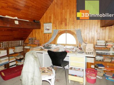 VENTE : LONS-LE-SAUNIER (JURA), A VENDRE maison de caractère 110 m², terrain 688 m², GRENIER