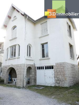 VENTE : LONS-LE-SAUNIER (JURA), A VENDRE maison de caractère 110 m², terrain 688 m², MAISON A VENDRE 110 m²