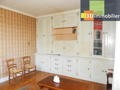 VENTE : LONS-LE-SAUNIER (JURA), A VENDRE maison de caractère 110 m², terrain 688 m², SALON 17.80 m²