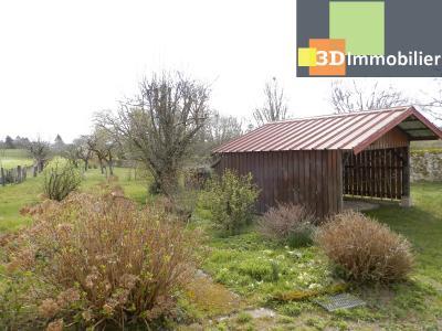 LONS-LE-SAUNIER (39 JURA), A VENDRE MAISON 125 M², DÉPENDANCES, GARAGE, TERRAIN 2151 M²., VUE TERRAIN
