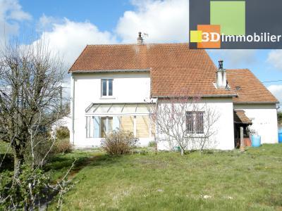 LONS-LE-SAUNIER (39 JURA), A VENDRE MAISON 125 M², DÉPENDANCES, GARAGE, TERRAIN 2151 M²., MAISON A VENDRE 125 m²