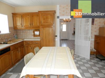 LONS-LE-SAUNIER (39 JURA), A VENDRE MAISON 125 M², DÉPENDANCES, GARAGE, TERRAIN 2151 M²., CUISINE 20.40 m²