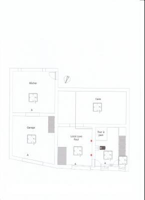 VENTE: SECTEUR LONS LE SAUNIER (39 JURA), A VENDRE MAISON EN PIERRE 112 M², TERRAIN 740 M², PLAN REZ DE CHAUSSEE
