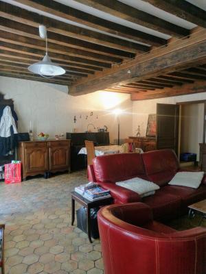 Proche Pommard (21),vends maison dans village viticole de 120m²,3 chambres dont une suite parentale., SALON/SEJOUR 36 M2