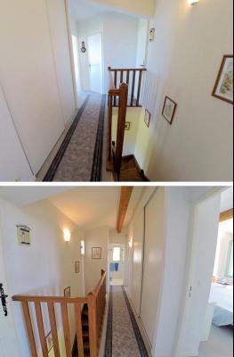 Théoule sur Mer, (06 Alpes Maritimes) à vendre maison vue mer, jardin 100m2 exposé sud, garage., dégagement étage