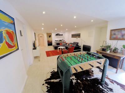 Le Cannet (06 Alpes Maritimes) à vendre appartement style loft-atelier 160m², centre vieux Cannet., salon rez de jardin
