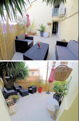 Le Cannet (06 Alpes Maritimes) à vendre appartement style loft-atelier 160m², centre vieux Cannet., terrasse