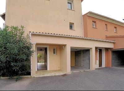 Le Cannet (06 )à vendre appartement duplex dans villa 91m2, 3 chambres, garage,  secteur Rocheville, extérieurs