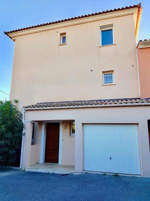 Le Cannet (06 )à vendre appartement duplex dans villa 91m2, 3 chambres, garage,  secteur Rocheville,