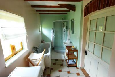 Bellevesvre (71 - Saône et Loire), à vendre maison rénovée avec 2 chambres et dépendances., SDB suite n°2 : 26 m²