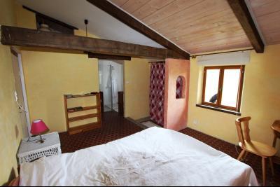 Bellevesvre (71 - Saône et Loire), à vendre maison rénovée avec 2 chambres et dépendances., Suite parentale 1 : 23 m²