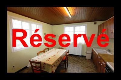 Secteur Bletterans, à vendre maison sur sous-sol avec 2460 m² de terrain., MAISON A VENDRE SUR 2460 m²