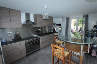 Perrigny (39 JURA), à vendre maison comprenant de 2 logements indépendants avec jardin et garage., RDC T4 : cuisine de 17 m²