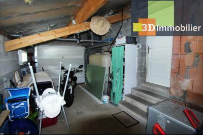 Secteur Bletterans (39 JURA), à vendre maison rénovée sans voisin, 2 chambres, 1170 m² de terrain., GARAGE 19 m²
