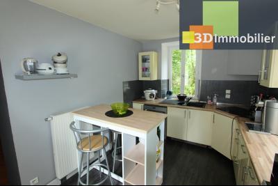Secteur Bletterans (39 JURA), à vendre maison rénovée sans voisin, 2 chambres, 1170 m² de terrain., CUISINE 10 m²
