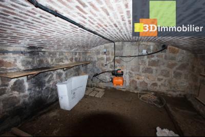 Secteur Bletterans (39 JURA), à vendre maison rénovée sans voisin, 2 chambres, 1170 m² de terrain., CAVE