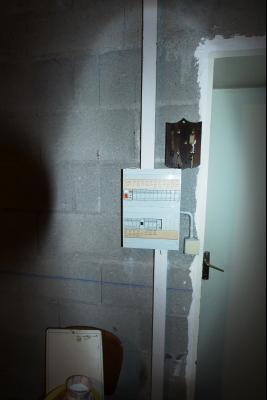 Lons-le-Saunier (39 JURA), à vendre maison de plain-pied, 3 chambres, 2 garages., Tableu électrique