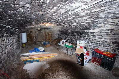 A vendre maison de village, 3 chambres, 553 m² de terrain, au sud de  Lons-le-Saunier., CAVE 1