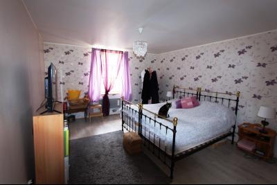 A vendre maison de village, 3 chambres, 553 m² de terrain, au sud de  Lons-le-Saunier., SUITE PARENTALE 28 m²