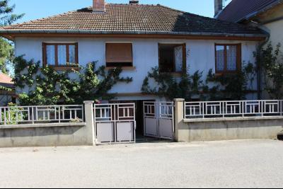 Secteur Domblans (39 JURA), à vendre maison 4 chambres sur sous-sol, MAISON A VENDRE