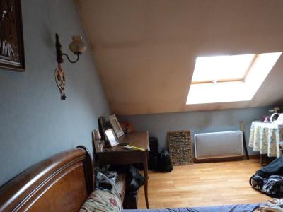 LONS-LE-SAUNIER 39000 JURA  Vends MAISON  habitation 85m²env.+ local professionnel 100m² env., Chambre 2