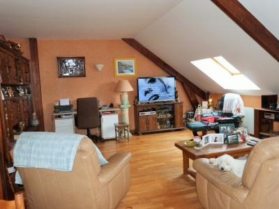 LONS-LE-SAUNIER 39000 JURA  Vends MAISON  habitation 85m²env.+ local professionnel 100m² env., Pièce à vivre côté salon