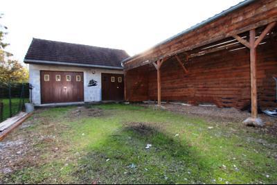Proche Bletterans (39 JURA), à vendre maison de village 3 chambres avec garage et jardin., GARAGE 30 m²