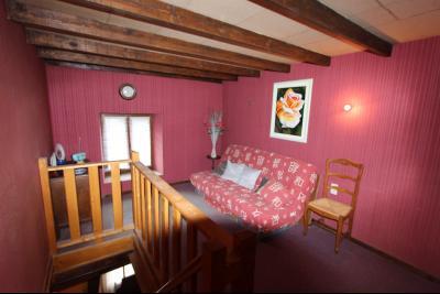 Proche Bletterans (39 JURA), à vendre maison de village 3 chambres avec garage et jardin., MEZZANINE 12 m²