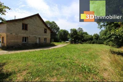 Secteur Clairvaux-les-Lacs (39 JURA), à vendre maison de campagne avec 2 logements indépendants., TERRAIN LOGEMENT 1