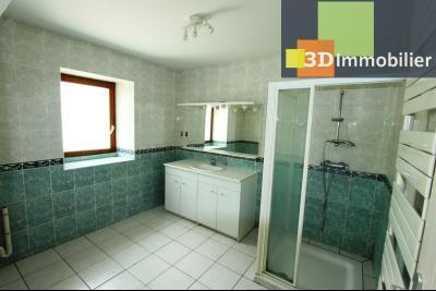 Secteur Clairvaux-les-Lacs (39 JURA), à vendre maison de campagne avec 2 logements indépendants., SDE AU RDC DU LOGEMENT 1