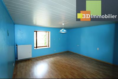 Secteur Clairvaux-les-Lacs (39 JURA), à vendre maison de campagne avec 2 logements indépendants., LOGEMENT 1 ETAGE : CH3