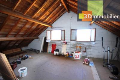Secteur Poligny (39 JURA), à vendre maison évolutive à la campagne avec 3 chambres., COMBLES AMENAGEABLES